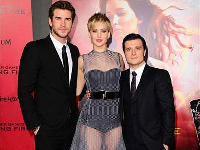 Intip Gaya Keren dan Stylish Para Bintang 'Hunger Games: Catching Fire' di Gala Premiere Los Angeles