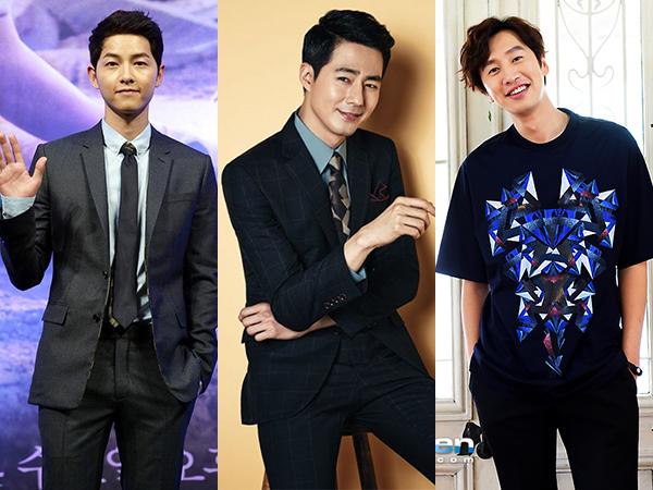 Dukung Sahabat, Lee Kwang Soo dan Song Joong Ki Kunjungi Jo In Sung di Lokasi Syuting