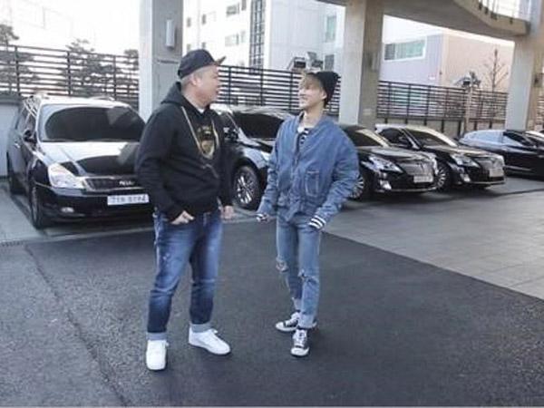 B.I iKON dan Kang Ho Dong Dapat Tantangan Merawat Anjing Yang Hyun Suk di 'Mari and Me'