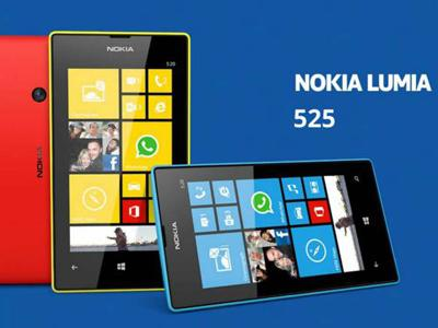 Nokia Rilis Lumia 525, Ponsel Windows Rp 2 Jutaan