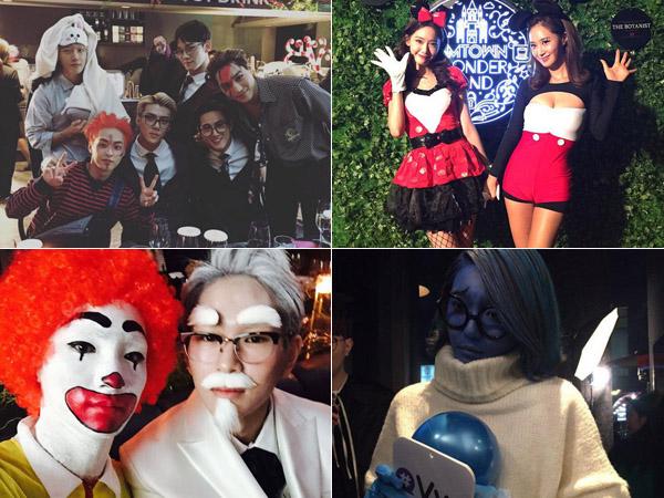 Ronald McDonald Hingga Micky Mouse, Intip Serunya Pesta Halloween SM Entertainment!