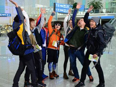 Berbagai Idol K-pop Top Korea Ikut Lomba Selam di Barefoot Friends