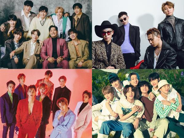 10 Boy Group K-Pop Terbaik Sepanjang Masa Pilihan Media Korea, Setuju?