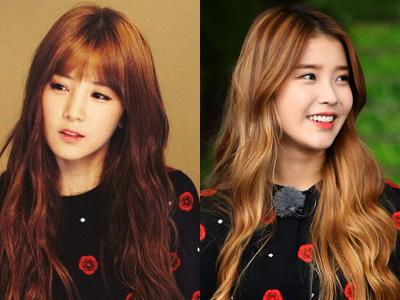 Sweater Kembar Chorong 'A Pink' & IU, Who Wore It Better?