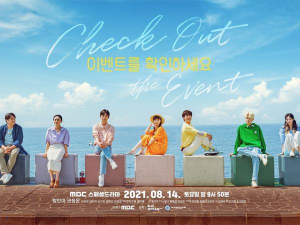 Bersiap untuk Petualangan Hati, Drama 'Check Out the Event' Rilis Poster Grup