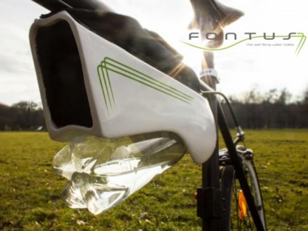 Wow, Sepeda Ini Bisa Isi Ulang Air Minum Sendiri?