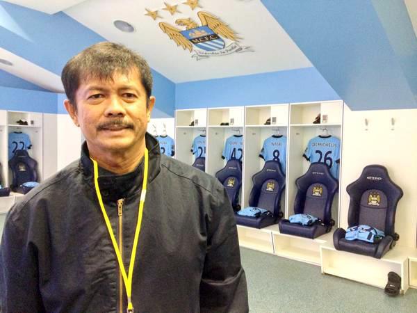 Pelatih Indra Sjafrie Diundang Manchester City dan Chelsea ke Inggris