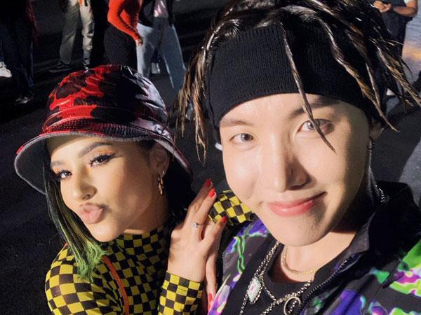 Lagu Kolaborasi J-Hope BTS dan Becky G 'Chicken Noodle Soup' Puncaki Chart iTunes di 69 Negara