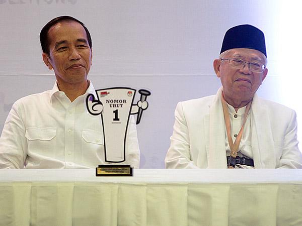 Jokowi-Ma'ruf Ungguli Perolehan Suara Pilpres 2019 di Korea Selatan
