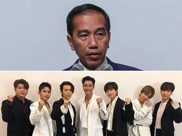 Jokowi Beri Sebutan Spesial Bagi Super Junior yang Berperan Penting dalam Hubungan Indonesia - Korsel