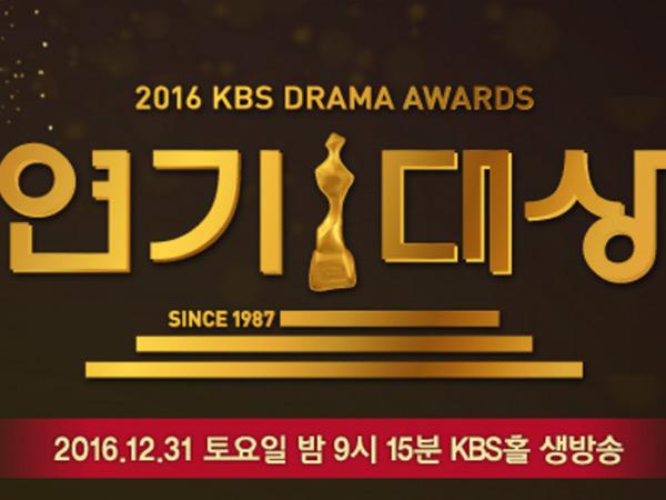 Sederet Aktor-Aktris Hingga Drama Korea Ini Beradu Dalam Nominasi '2016 KBS Drama Awards'!