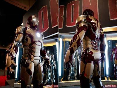 Wow, Foto Desain Perdana Kostum Iron Man 3 Beredar