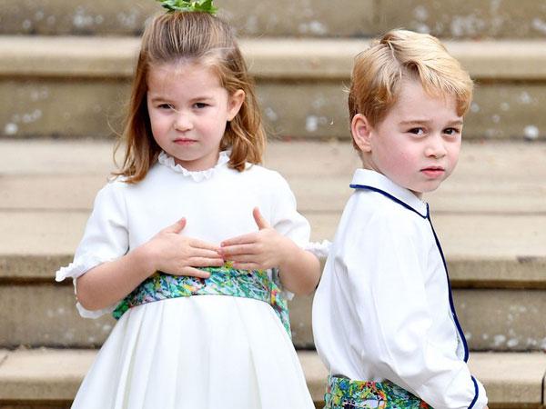 Manisnya Putri Charlotte Gunakan Baju 'Lungsuran' Sang Kakak Pangeran George di Foto Resmi Kerajaan Terbaru