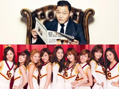 Psy dan SNSD Muncul dalam 'YouTube Rewind Video' Tahun Ini!
