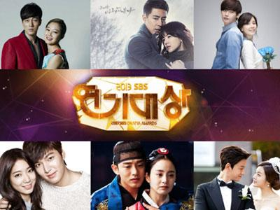 'The Heirs' & 'The Sun of My Master' Borong Penghargaan SBS Drama Awards 2013