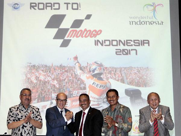 Indonesia Tak Sanggup Bayar Uang Jaminan Tuan Rumah MotoGP 2017