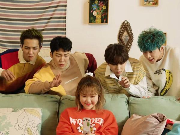 Lucunya WINNER Jadi Kakak Protektif nan Menyebalkan Bagi Lee Suhyun di MV 'Hold'