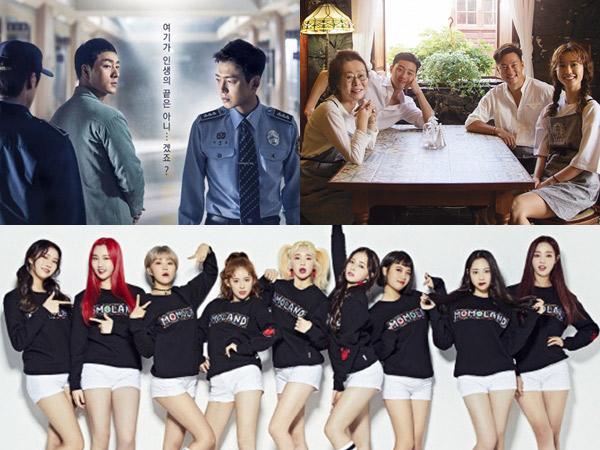 'Prison Playbook' Hingga MOMOLAND, Ini Daftar Lengkap Pemenang '2018 Korea Cable TV Awards'