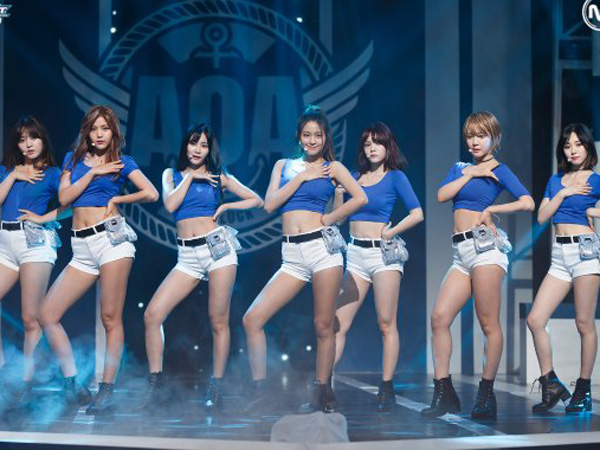 Duh, Netizen Pertanyakan Keabsahan Nilai Kemenangan AOA di 'Music Bank'?