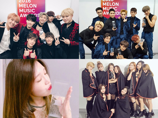 Aliran Hip Hop Hingga Indie, Inilah Idola K-Pop Peraih Piala '2016 MelOn Music Awards'!