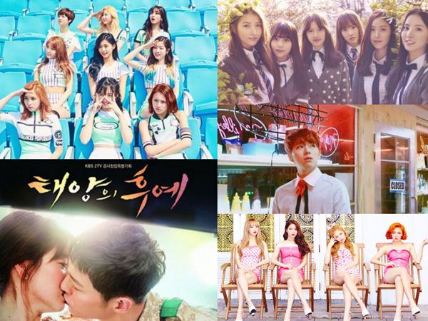 Ini Dia Daftar Lagu K-Pop Terpopuler di Pertengahan 2016 Versi Chart Mnet