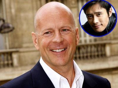 Bruce Willis Puji Habis Lee Byung Hun