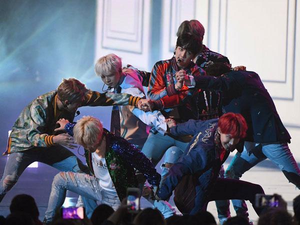 Penampilan BTS Sukses Pecahkan Panggung American Music Awards 2017