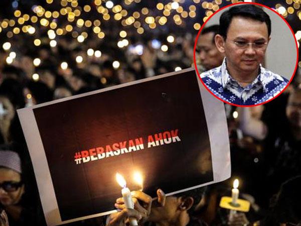 Gerakan Lilin Keadilan untuk Ahok Digelar di Empat Benua