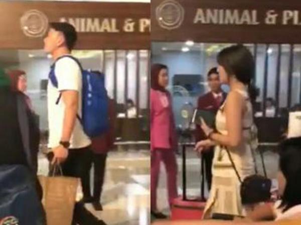 Gisella Anastasia dan Wijaya Saputra Kepergok di Bandara, Liburan Berdua ke Sngapura?