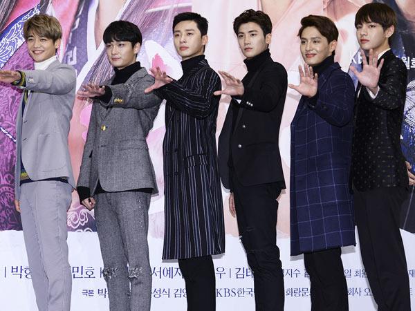 Akui Stres, Para Pemeran 'Hwarang' Ceritakan Kisah Dibalik Syuting Adegan Mandi