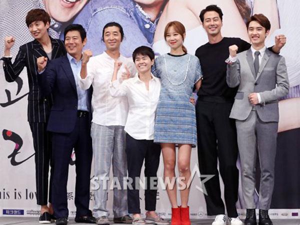 Para Bintang 'It's Ok It's Love' Sibuk Bersiap Untuk Penayangan Drama Perdana!