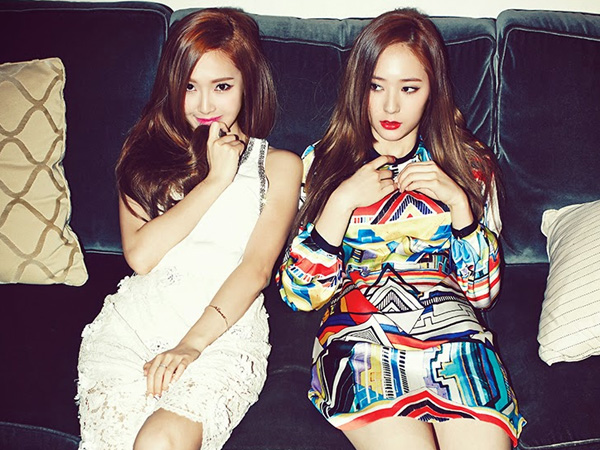 Wah, Jessica SNSD dan Krystal f(x) Punya Kekompakkan yang Unik Saat Masih Kecil