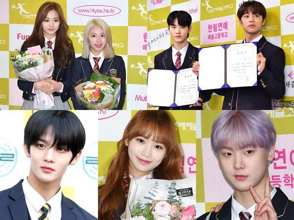 Congrats! Member TWICE, The Boyz, dan Idola K-Pop Lainnya Ini Resmi Lulus SMA