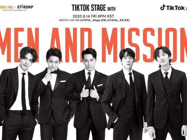 Lima Aktor Tampan King Kong by Starship Siap Gelar Fan Meeting Virtual