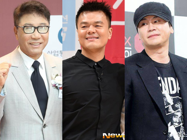 Lee Soo Man Peringkat Pertama dengan Nilai Saham Tertinggi, Park Jin Young Geser Yang Hyun Suk