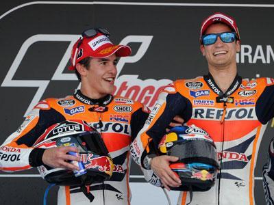 Duo Honda Optimis Berjaya di GP Italia