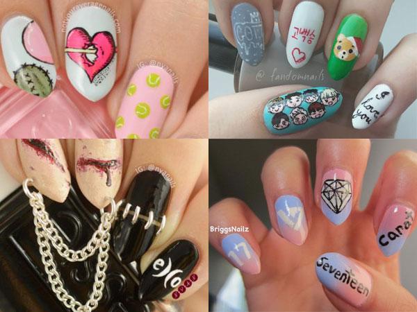 Kembali Populer, Yuk Intip Desain Nail Art A la K-pop yang Bisa Kamu Contek!