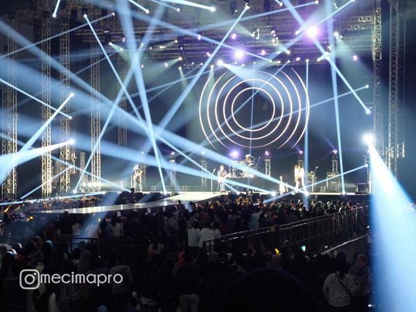 Mellow Hingga Menghentak, Nell Sukses Mainkan Emosi di Konser 'Saranghaeyo Indonesia 2016'