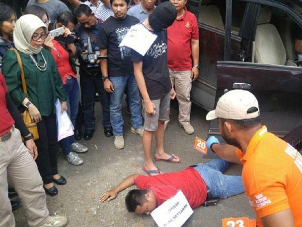 Terungkap, Pelajar Bunuh Supir Taksi Online di Semarang Hanya Dalam Hitungan Menit!