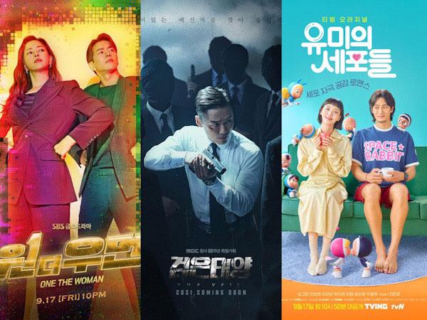 Persaingan Ketat Rating 3 Drama Korea Baru, Menang Siapa?
