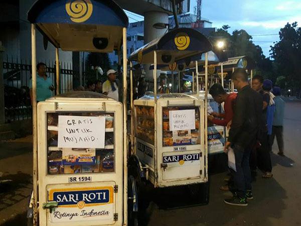 Sari Roti Bantah Terlibat di Aksi Damai 212, Komentar Pro-Kontra Muncul di Netizen