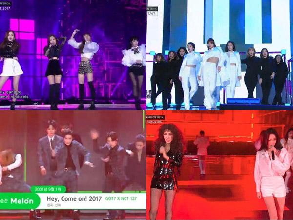 Deretan Penampilan Spesial Idola K-Pop di Panggung 'SBS Gayo Daejun 2017'