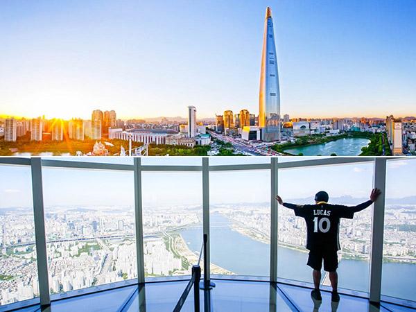 Nikmati 'Pemandangan Surga' dari Ketinggian Seoul Sky yang Super Kekinian