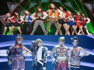 Urutan Girlband Korea Terpopuler, SNSD dan 2NE1 Bersaing di Posisi Satu!