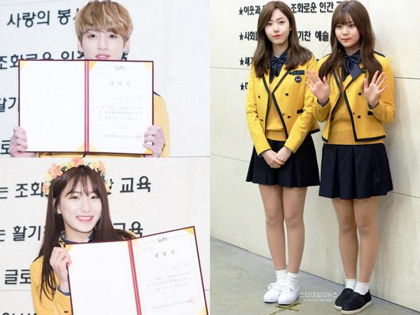 Sederet Idola K-Pop Hadiri Acara Kelulusan SMA School of Performing Arts Seoul