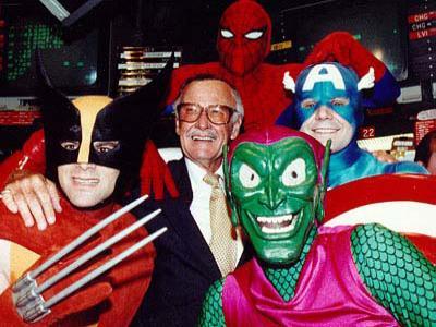 The Avengers Sukses, Stan Lee Gigit Jari