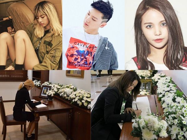 Berduka untuk Raja Bhumibol, Lisa Black Pink Hingga Ten NCT Datang ke Kedubes Thailand