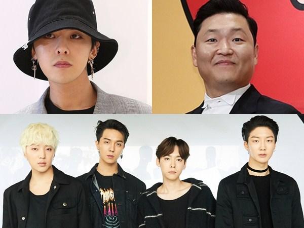 Artis YG Entertainment Dominasi Tangga Musik Korea Sepanjang Musim Semi