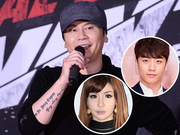 Ini Alasan Kenapa Bos YG Ent Yang Hyun Suk Unfollow Seungri dan Park Bom di Instagram