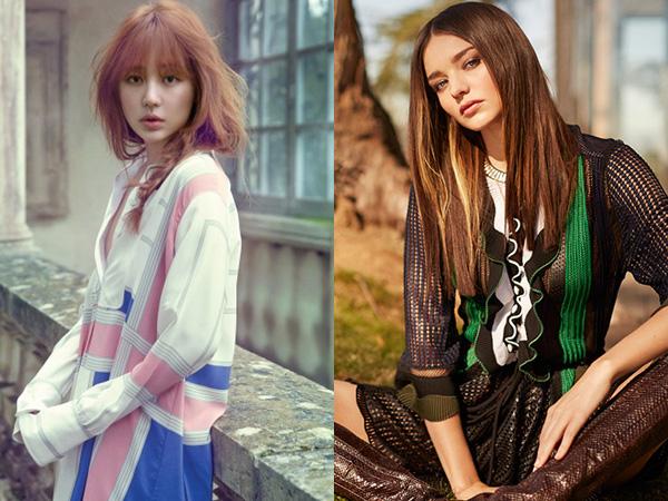 Bertemu Miranda Kerr Jadi Jadwal Pertama Yoon Eun Hye Pasca Kontroversi Plagiarisme